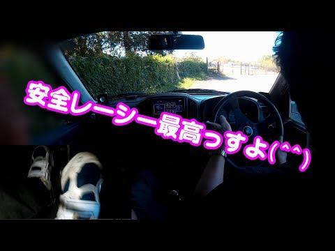 【Kei/5MT】風神さんと安全レーシードライブ(笑)