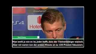 Kroos: Alle hoffen, dass Real Madrid wackelt