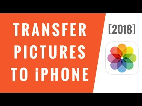 How do i transfer photos from pc to iphone xr