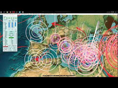 1/13/2018 -- Seismic Pressure + Earthquakes hit Europe as expected -- USA West Coast on watch