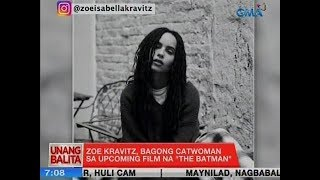 UB: Zoe Kravitz, bagong Catwoman sa upcoming film na 'The Batman'