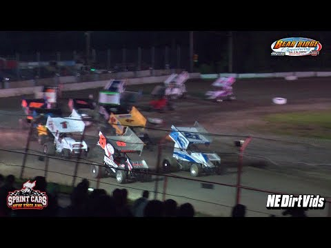 Highlights: Sprint Cars of New England at Bear Ridge Speedway 6 10 2017