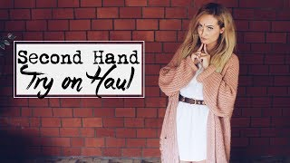 SECOND HAND ☾Try On Haul