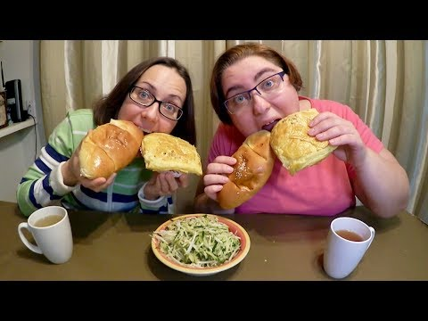 Asian Coconut Buns, BBQ pork buns And Cucumber Radish Salad | Gay Family Mukbang (먹방) - Eating Show