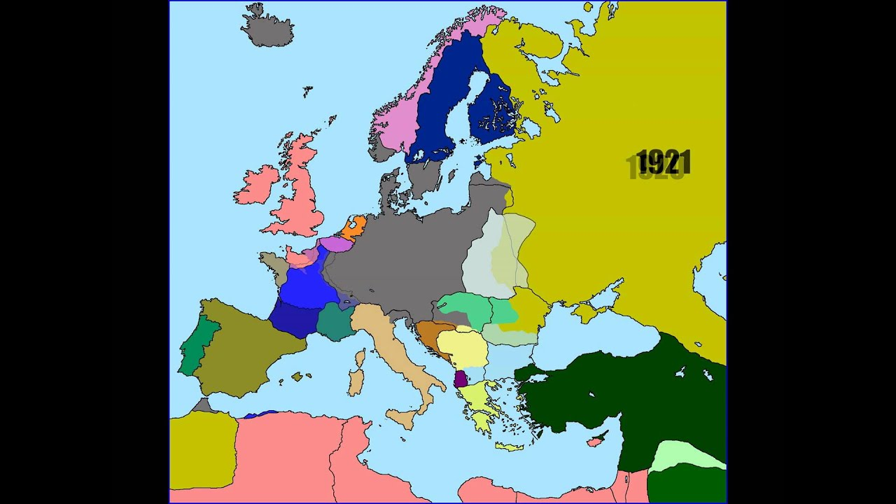 10 subscriber special: Alternate History of Europe from 1815 to 2016 ...