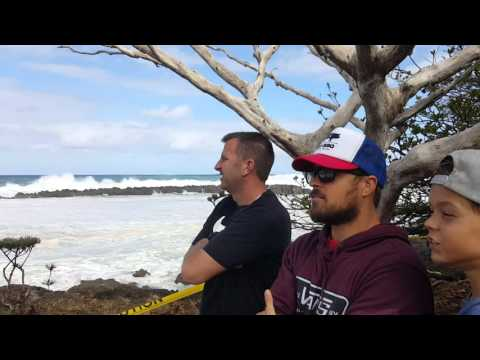 Massive 40 to 55 ft. Waves on North Shore Oahu 2.22.2016