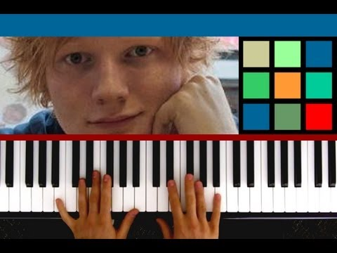 How To Play The A Team Piano Tutorial  Sheet Music Ed Sheeran