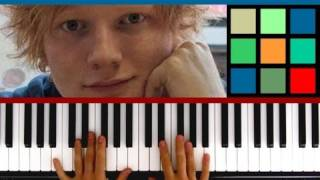 "How To Play ""The A Team"" Piano Tutorial / Sheet Music (Ed Sheeran)"