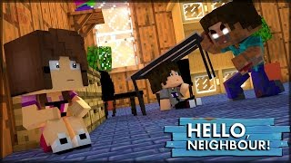 HEROBRINE INVADIU MINHA CASA - HELLO NEIGHBOR #5 (MINECRAFT MACHINIMA)