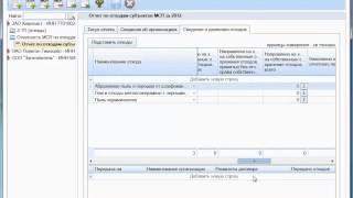 Формирование отчета субъекта МСП