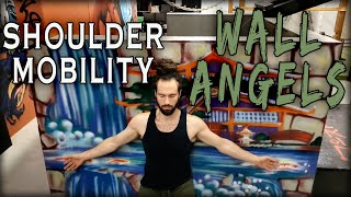Wall Angels | Shoulder Adduction & Abduction Natural Mobility Exercise
