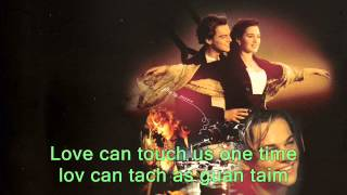 titanic letra en ingles & pronunciacion