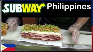Subway in the Philippines