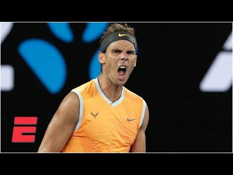 Rafael Nadal Beats Stefanos Tsitsipas To Advance To Aussie Open Final   Australian Open Highlights