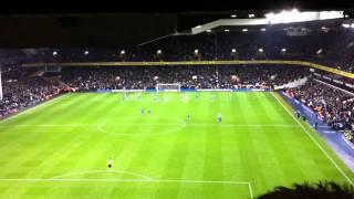 Tottenham vs Chelsea-Gomes saving penalty HD