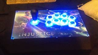 PS3 Injustice Gods Among Us Battle Edition with Fightstick