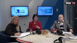 "Гиртс Людекс, Даце Котзева и Сигне Бирне в программе ""Разворот"" #MIXTV"