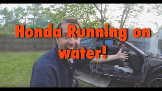 This Honda Runs on Water! How is this possible? Please Explain this to me.