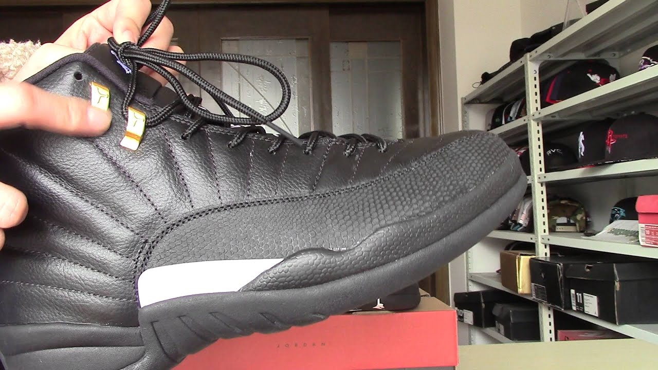 28bdd386b59fa1 Kickswholesale.cn cheap real jordan 12 master - YouTube