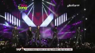 mblaq this is war oh yeah asia song festival ystar 12 o9 o5
