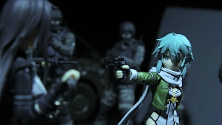 Download Sinon at the Gun Range - Suicide Squad Figma Stop-Motion