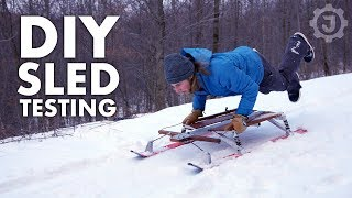 Sled - Is This the World's Best DIY Snow Sled? (4/4)