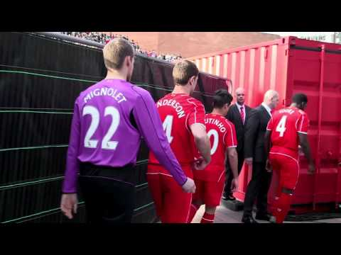 Liverpool Lanserer Ny Fotballdrakt For 2014/15