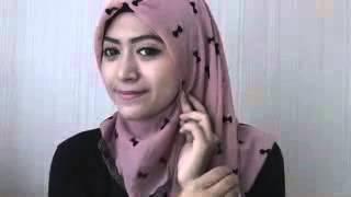 #37 Hijab Tutorial Natasha Farani   Paris Segiempat   Square Scarf