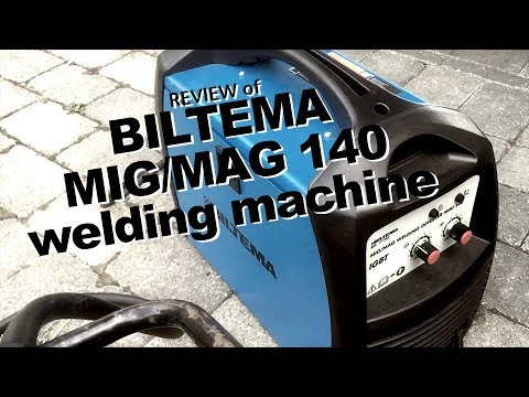 REVIEW Of Biltema Welding Machine MIG MAG 140 A