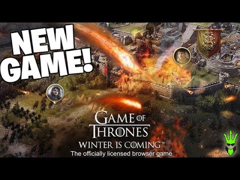 Winter Is Coming New Game Game Of Thrones Winter Is Coming