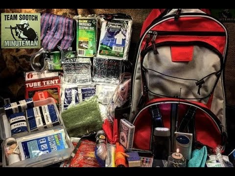 Survival Kit Backpack for Two