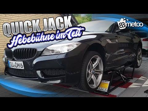 Quick Jack BL-5000 SLX Hebebühne im Test | Portable mobile Hebebühne QuickJack Erfahrung Deutschland