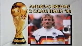World Cup Final 1990 Argentina 0  1 West Germany