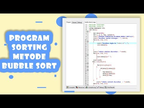 Cara Mengurutkan Huruf C++