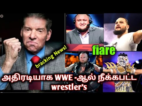 breaking news WWE release to the top superstar  WWE  wrestling King Tamil