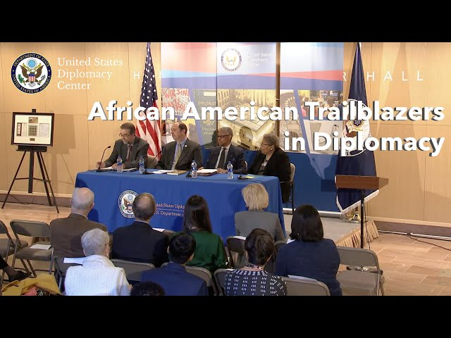 African American Trailblazers in Diplomacy