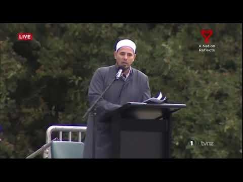 Azaan broadcast across NZ as world marks a week since Christchurch massacre