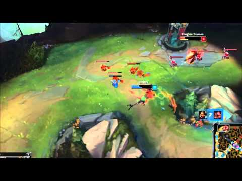 LMHT : Highlight Nidalee solo top