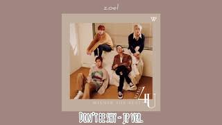 Gambar cover WINNER - DON'T BE SHY [JAPANESE VER.]