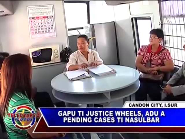 PTV YLOCOS TELEDYARYO YLOCOS GAPU TI JUSTICE WHEELS, ADU A PENDING CASES TI NASULBAR Travel Video