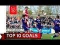 TOP 10 GOALS - ABN AMRO Future Cup 2017