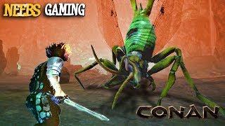 Conan Exiles - HIVE QUEEN BATTLE