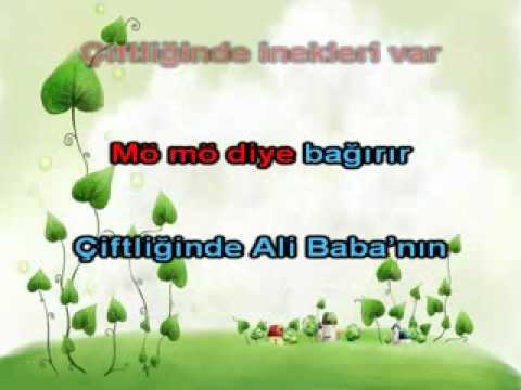 Ali Babanin Ciftligi Karaoke