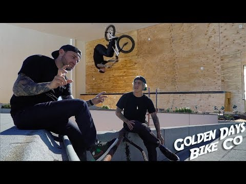 BEHIND THE SCENES OF GOLDEN DAYS BIKE CO!