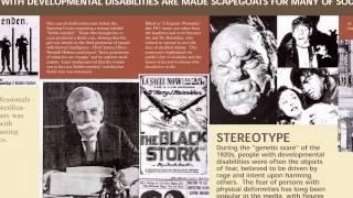 Disability History Video Exhibit Panel 9