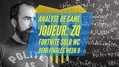 Analyse de game Solo WC Week 9 / Joueur coaché ZQ