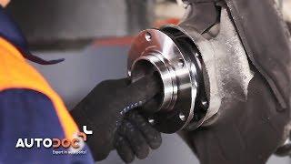 Reemplazar Juego de cojinete de rueda BMW 5 SERIES: manual de taller