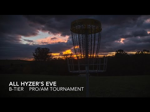 All Hyzer's Eve 2016 Lead Card Final Round - Dickerson, Melton, Seaborn, Isaacs, Brown