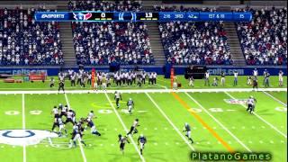NFL 2012 Week 17 - Houston Texans (12-3) vs Indianapolis Colts (10-5) - 3rd Qrt - Madden '13 - HD