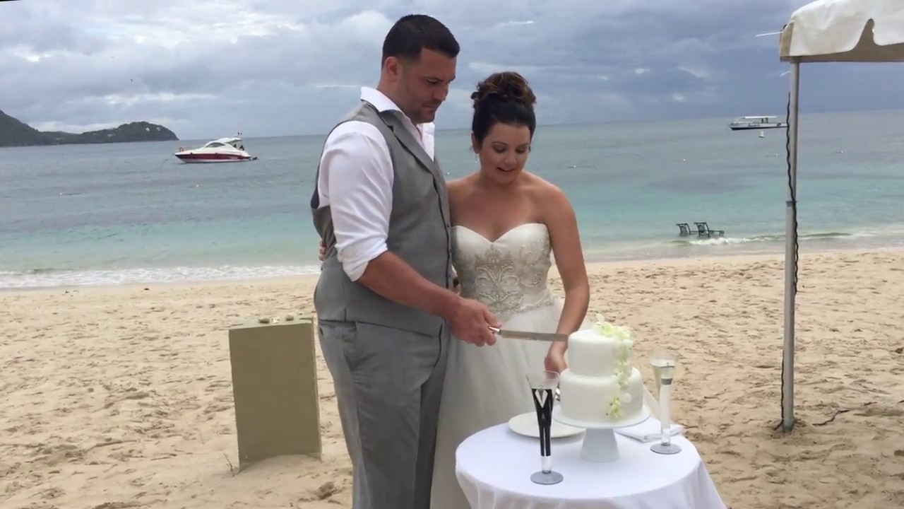 Sandals Grande St Lucian Destination Wedding Youtube